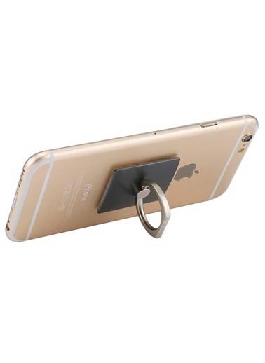 Jacobson Telefon Halkası Style Ring Selfie Yüzüğü Siyah